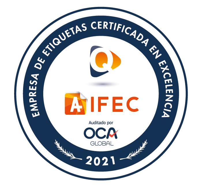 Sello de excelencia QAIFEC